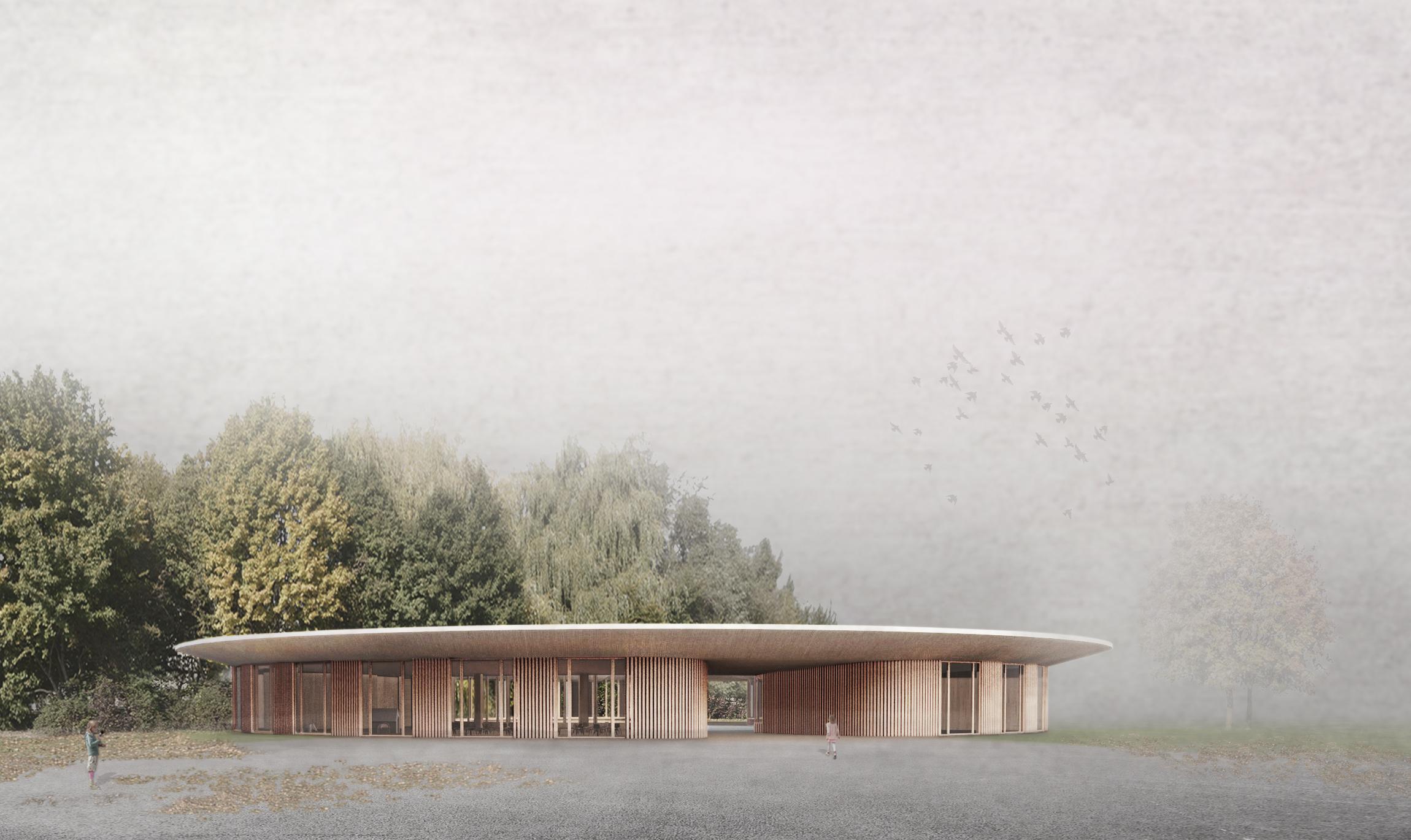 Tagesschule Kindergarten Brühl Solothurn Ansicht Süd STUDIO CORNEL STAEHELI
