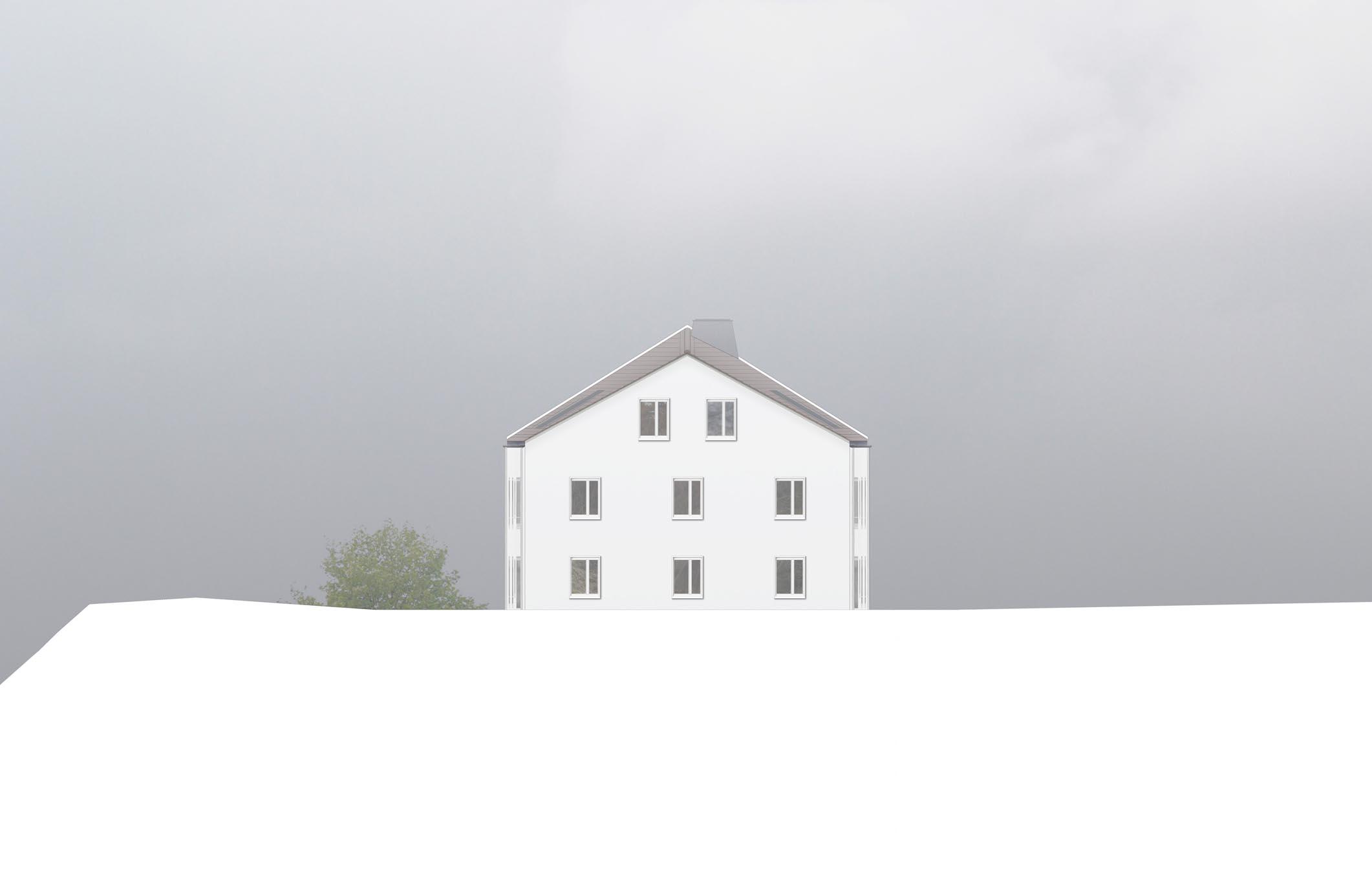 Zur Mühle Bronschhofen Wil Nordfassade