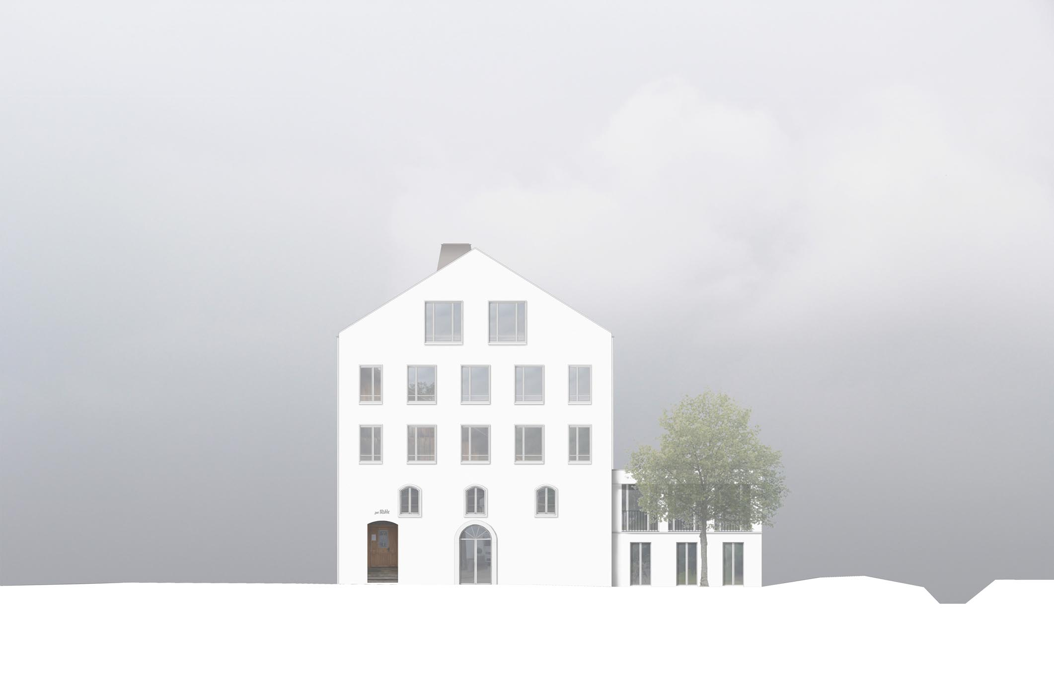 Zur Mühle Schaufassade STUDIO CORNEL STAEHELI