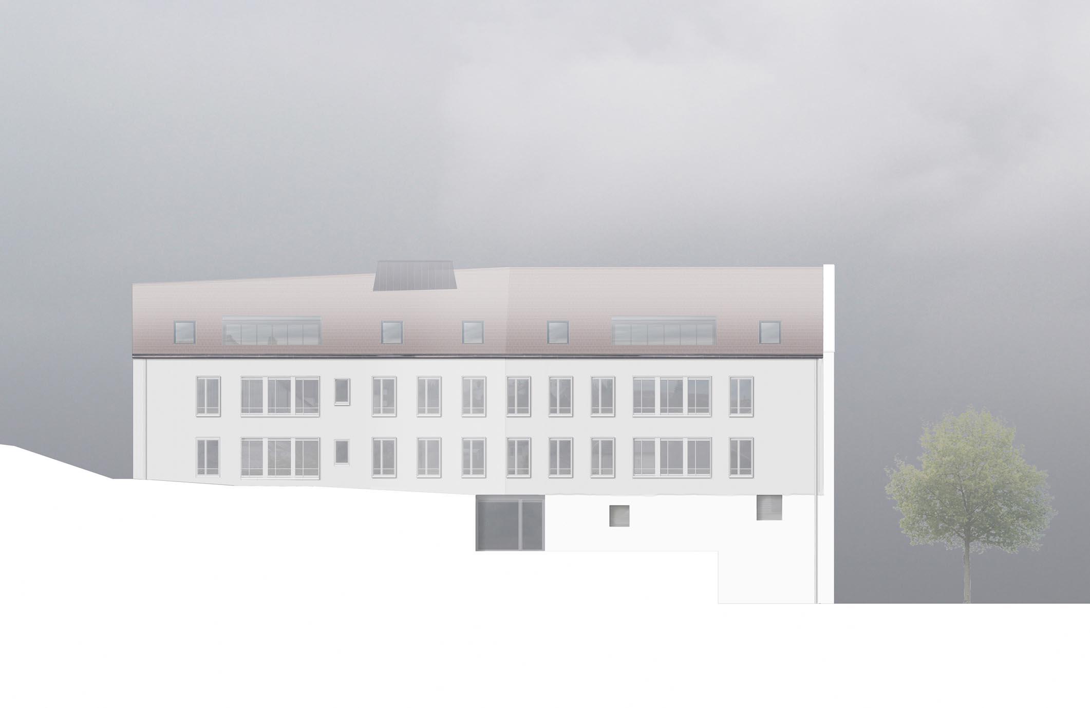 Zur Mühle Bronschhofen Wil Westfassade